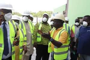Ministers Tours Zoomlion's Hi-tech Recycling Plant [Photo]