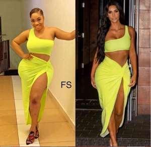 Moesha Boduong Causes Stir On Social Media As She Praises Kim Kardashian