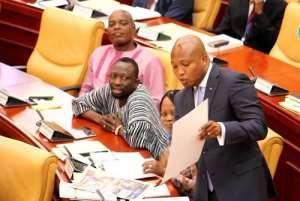 Ablakwa in Parliament