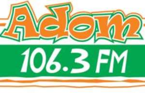Adom FM are not serious at News time