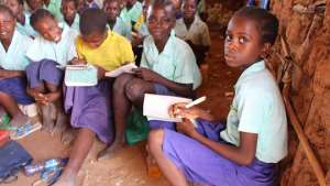 African school children in mineral-rich Africa can't continue living in this misery and poverty