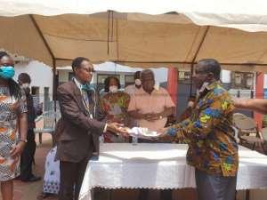 COVID-19: La Mansaamo Kpee Hands Over Facility To Health Ministry