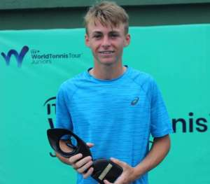 France's Rising Tennis Star Mathis Bondaz Does It Again In Accra