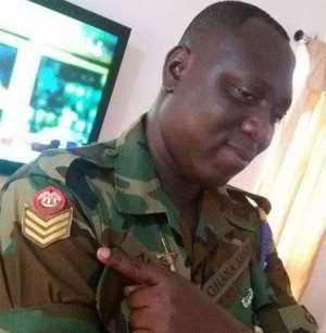 The late Staff Sergeant Arthur Jabez