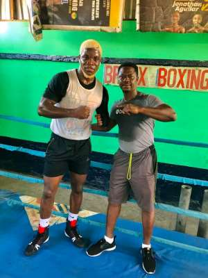 Jacob Dickson – Ghana's Next Champion In The Big Weights Class
