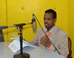 Goobjoog Media deputy director, Abdi Aziz Ahmed Gurbiye. | Photo credit: Facebook/Courtesy.