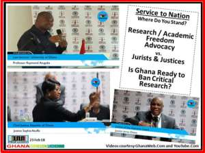 Defensive CJ Sophia Akuffo et al Have No Case vs. Professor Atuguba Of UG (Legon)- Part 3