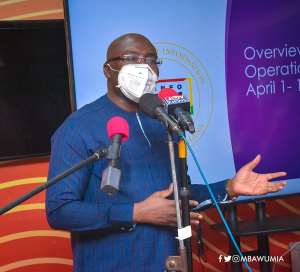 Your Hard Work Is Crucial In Covid-19 Fight — Bawumia To Staff Of Covid-19 Call Centre