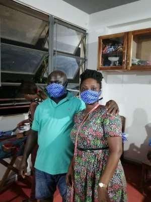 Amansan Skill Training Institute Making Face Masks To Meet Coronavirus Shortages