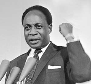 Dr. Kwame Nkrumah won Ghana's independence in March 1957