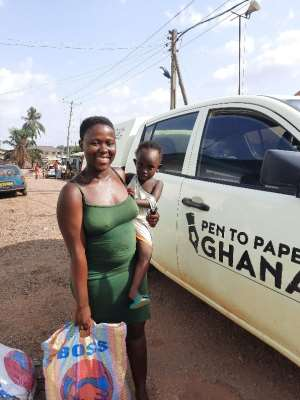 Covid-19: Pen To Paper Ghana Distribute Food Items