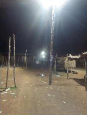 Alhaji Habib Iddrisu Provides Electricity For Two Communities In The Tolon  Constituency