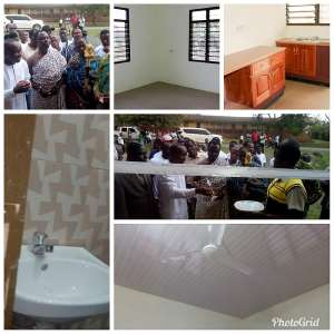 Nkroful Agric SHS Gets New Staff Bungalow