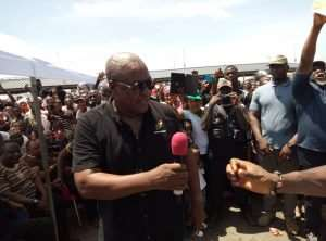Mahama Visits Accra Bus Stations Today Ahead Of Easter