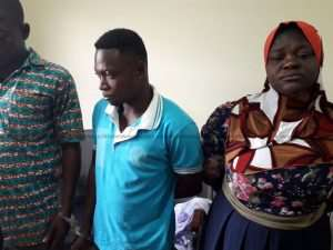 Police Grabs Aisha, Others For Illegally selling PDS Meters In Kumasi