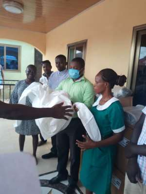 Denkyira Hemaa Supports Coronavirus Fight With Donation Of PPEs