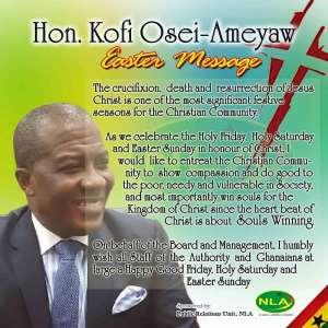 Osei Ameyaw, NLA boss