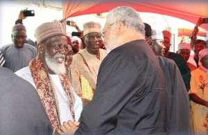 Rawlings Touts Chief Imam As A Unifier