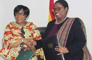 Shirley Ayorkor Botchwey and Yldiz Pollack-Beighle