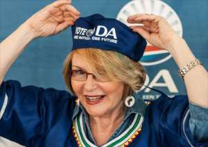 Hellen Zille, Premier of the Western Cape and Democratic Alliance Leader