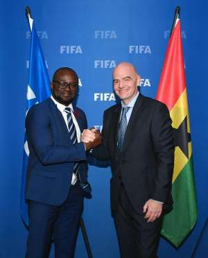 Covid-19: Ghana FA To Benefit $500,000 From FIFA's Stimulus Package