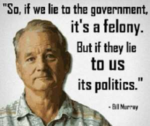 Anyone Who Wants To Become A Politician Must Learn To Lie