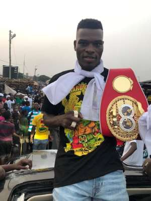 Richie Commey Elated To Be Nominate Boxer of the Year 2018 By SWAG