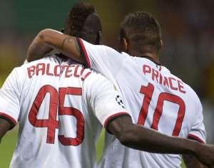 Kevin Prince Boateng Hails Mario Balotelli's Potential
