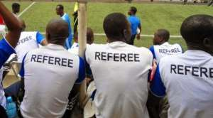 Police Saves Referee Eshun And Two Assistants From Attack