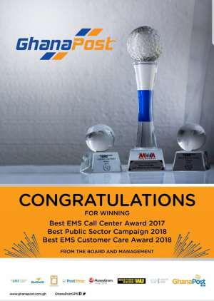 Ghana Post Wins International Award