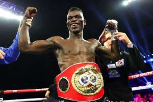 Commey Could Make Title Defence On June 28, Says Manager