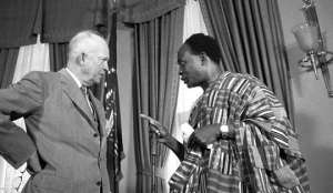 Kwame Nkrumah never kowtow for world leaders