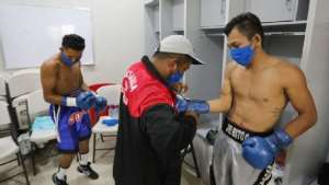 Referees, Judges, Fans Wearing Face Masks Headline Boxing Card In Nicaragua