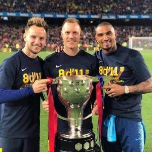 KP Boateng Wins La Liga Title With FC Barcelona