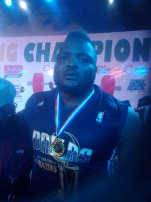 Eben Nii Armah Crowned Champion Of 2019 Powerlifting Championship
