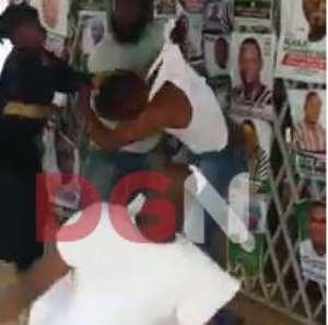 NDC Members Clash In Kumasi [Hot Video]