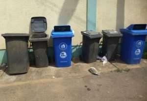Household Get Bins For Waste Segregation Project