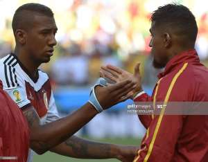 Jerome Boateng and Kevin Prince Boateng at 2014 FIFA World Cup in Brazil