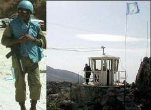 Ghanaian peacekeepers in Lebanon honoured