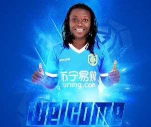 Elizabeth Addo Excited After Joining Chinese Side Jiangsu Suning