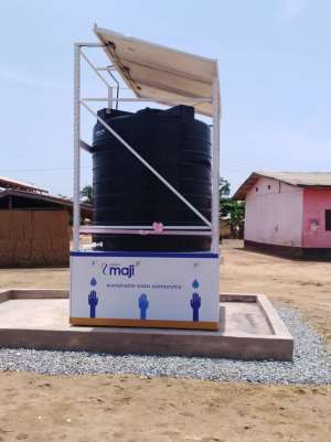 Project Maji Commissions 42nd Mechanized Borehole in Ghana.