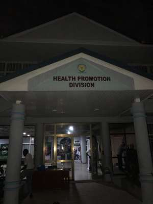 World Health Organisation and other Development Partners applaud Ghana for setting up a Health Promotion Division