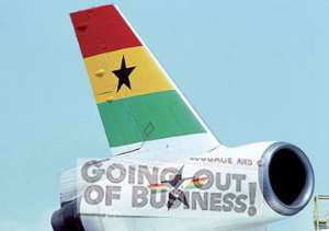 Ghana Airways: Going, Going ......