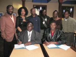 Alavanyo & Nkonya citizens  seek to Promote peace back home