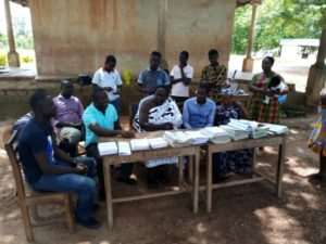 One Vision Exams Center Rescues Teachers From Writing Terminal ExamsOn Chalkboard In Kumasi