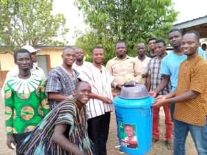 NDC Parliamentary Candidate For Tain Constituency Donates Items To Fight Coronavirus