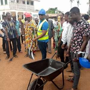 Volta Region: Construction Of Liati Roads Begins