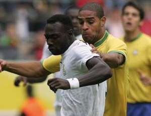 Ghana Black stars   Suffer Narrow Defeat to Brazil (by DILASO).