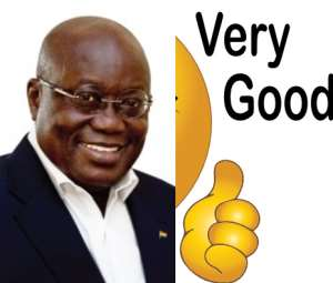 The Ghanaian leader, Nana Akufo Addo, a great move.