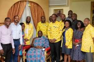 Asantehene Commends MTN For Consistency